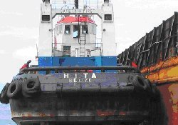 Malaysian authorities arrest hijackers of Indonesian tug and barge